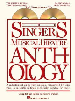 The Singer's Musical Theatre Anthlogy - Teen's Edition: Baritone/Bass