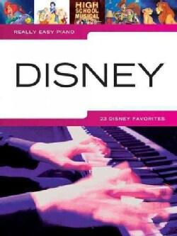 Really Easy Piano Disney (Paperback)