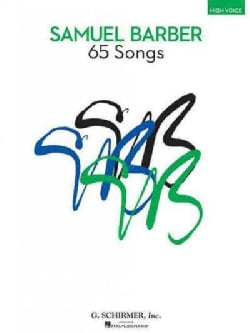65 Songs: High Voice Edition (Paperback)