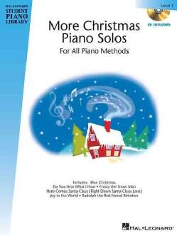 More Christmas Piano Solos - Level 1: Hal Leonard Student Piano Library