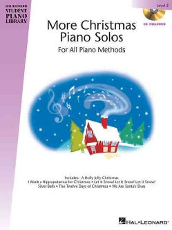 More Christmas Piano Solos - Level 2: Hal Leonard Student Piano Library