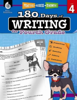 180 Days of Writing for Fourth Grade: Practice - Assess - Diagnose
