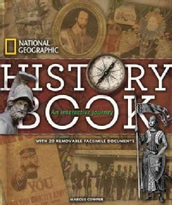 National Geographic History Book: An Interactive Journey (Hardcover)