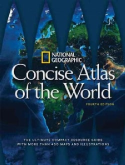National Geographic Concise Atlas of the World (Paperback)