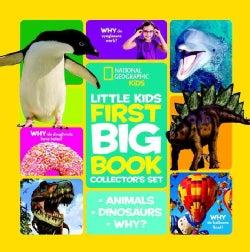 Little Kids First Big Book: First Big Book of Dinosaurs/ First Big Book of Why/ First Big Book of Animals (Hardcover)
