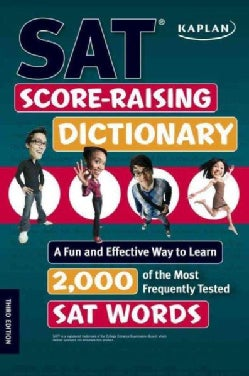 Kaplan Sat Score-Raising Dictionary (Paperback)