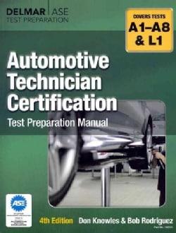 Automotive Technician Certification Test Preparation Manual (Paperback)