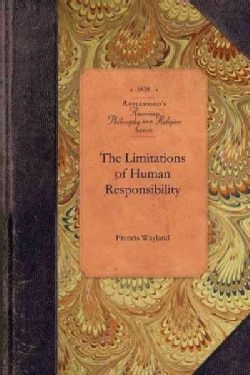 The Limitations of Human Responsibility (Paperback)