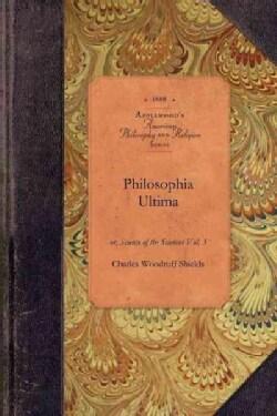 Philosophia Ultima (Paperback)