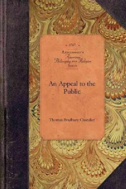 An Appeal to the Public (Paperback)