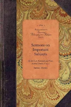 Sermons on Important Subjects (Paperback)
