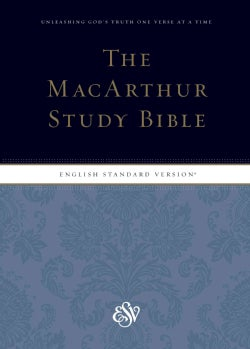 The Macarthur Study Bible: English Standard Version (Hardcover)