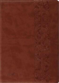 The MacArthur Study Bible: English Standard Version, Trutone Natural Brown, Woodcut Design (Paperback)