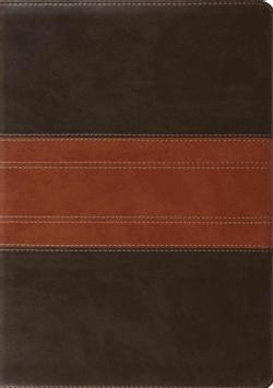 ESV Study Bible: English Standard Version, Forest/Tan, Trutone, Trail Design