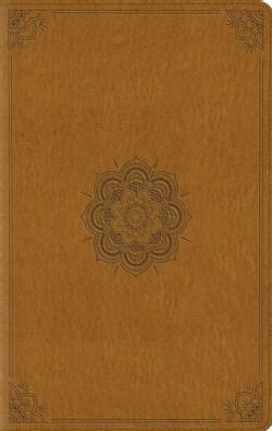 Holy Bible: English Standard Version, Goldenrod, TruTone, Emblem (Paperback)