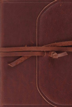 Holy Bible: Esv Bible, Flap With Strap With Ribbon Marker (Paperback)