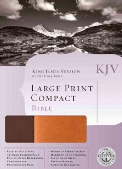 The Holy Bible: King James Version, Brown & Tan, Simulated Leather (Paperback)