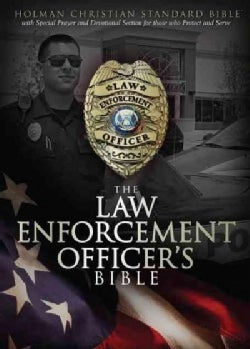The Law Enforcement Officer's Bible: Holman Christian Standard Bible, Black, Simulated (Paperback)