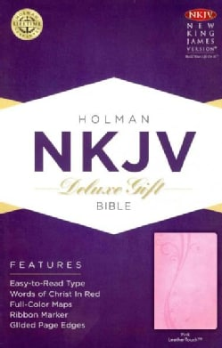 Holy Bible: New King James Version, Pink, Leathertouch (Paperback)