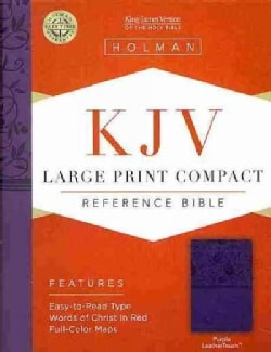 Holy Bible: King James Version Bible, Purple, Leathertouch, Reference (Paperback)