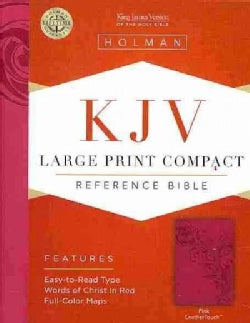 Holy Bible: King James Version Bible, Pink, Leathertouch (Paperback)