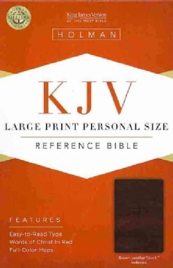 Holy Bible: King James Version, Brown LeatherTouch, Personal Size (Paperback)