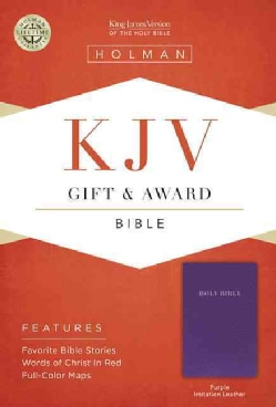 Holy Bible: King James Version, Purple, Imitation Leather, Gift & Award (Paperback)