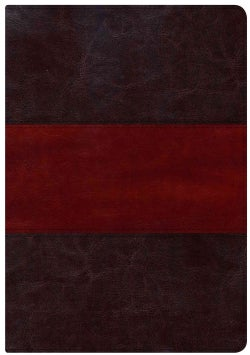 Holman Study Bible Edition: New King James Version, Saddle Brown, LeatherTouch, Full-Color (Paperback)
