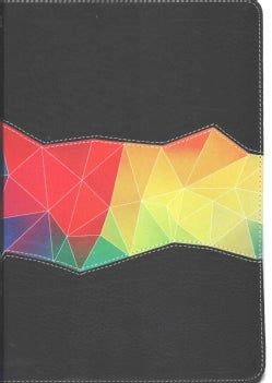 Holman Rainbow Study Bible: New International Version, Kaleidoscope Black, LeatherTouch (Paperback)