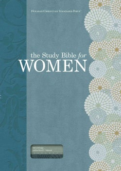 The Study Bible for Women: Holman Christian Standard Bible, Personal Size Edition, Teal/Sage Leathertouch (Paperback)