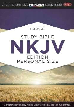 Holman Study Bible: New King James Version, Personal Size (Hardcover)