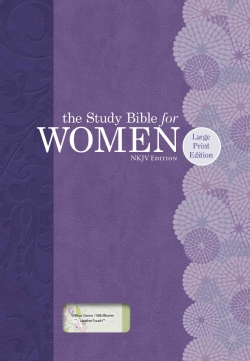 Holy Bible: Study Bible for Women, New King James Version, Willow Green/Wildflower Leathertouch (Paperback)