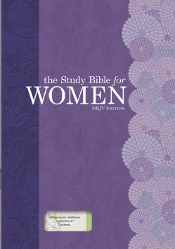 Holy Bible: Study Bible for Women, New King James Version, Personal Size Edition Willow Green/Wildflower Leathert... (Paperback)