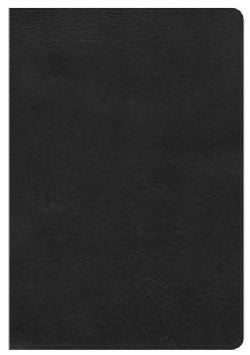 Holy Bible: King James Version, Giant Print Reference Bible, Black Leathertouch (Paperback)
