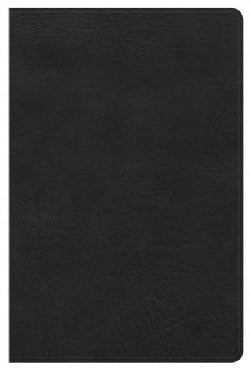 Holy Bible: New King James Version, Ultrathin Reference Bible, Black Leathertouch (Paperback)