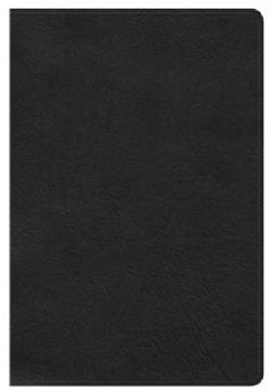 Holy Bible: Holman Christian Standard, Personal Size Bible, Black Leathertouch (Paperback)