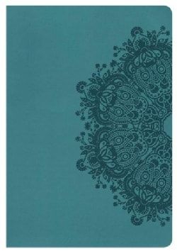 Holy Bible: Holman Christian Standard, Ultrathin Reference Bible, Teal Leathertouch (Paperback)