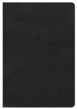 Holy Bible: Holman Christian Standard, Ultrathin Reference Bible, Black Leathertouch (Paperback)