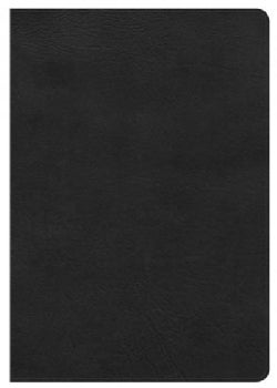 Holy Bible: Holman Christian Standard, Super Giant Print Reference Bible, Black Leathertouch (Paperback)
