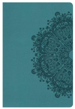 Holy Bible: New King James Version, Personal Size Reference Bible, Teal Leathertouch (Paperback)