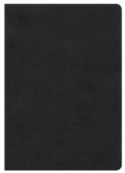 Holy Bible: King James Version, Reference Bible, Black Leathertouch (Paperback)