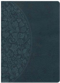 Holy Bible: KJV Study Bible, Dark Teal Leathertouch (Paperback)