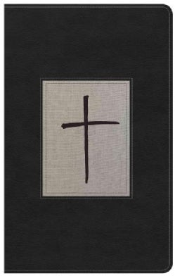 Holy Bible: King James Version, Ultrathin Reference Bible, Black/Gray Deluxe Leathertouch (Paperback)