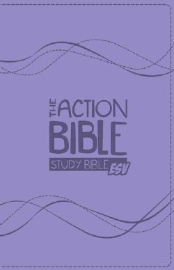 The Action Bible Study Bible ESV: English Standard Version; Premium Girl's Edition (Paperback)