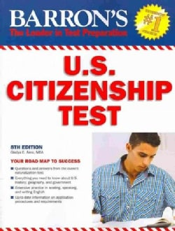 Barron's U.S. Citizenship Test (Paperback)
