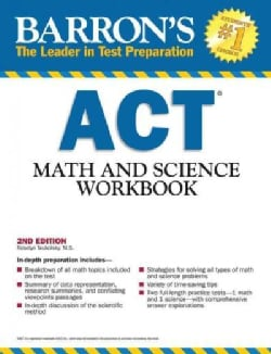 Barron's ACT Math and Science (Paperback)