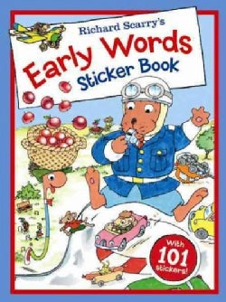 Richard Scarry's Early Words Sticker Book (Paperback)