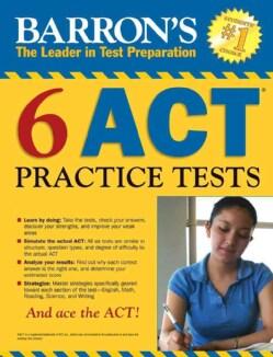 Barron's 6 ACT Practice Tests (Paperback)
