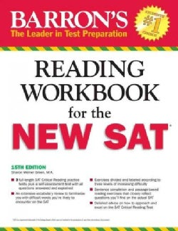 Barron's Reading Workbook for the New SAT (Paperback)