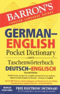 Barron's German-English Pocket Dictionary / Taschenworterbuch Beutsch-Englisch (Paperback)